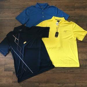 ‼️BUNDLE OF 3‼️Men's Greg Norman Polo Shirts